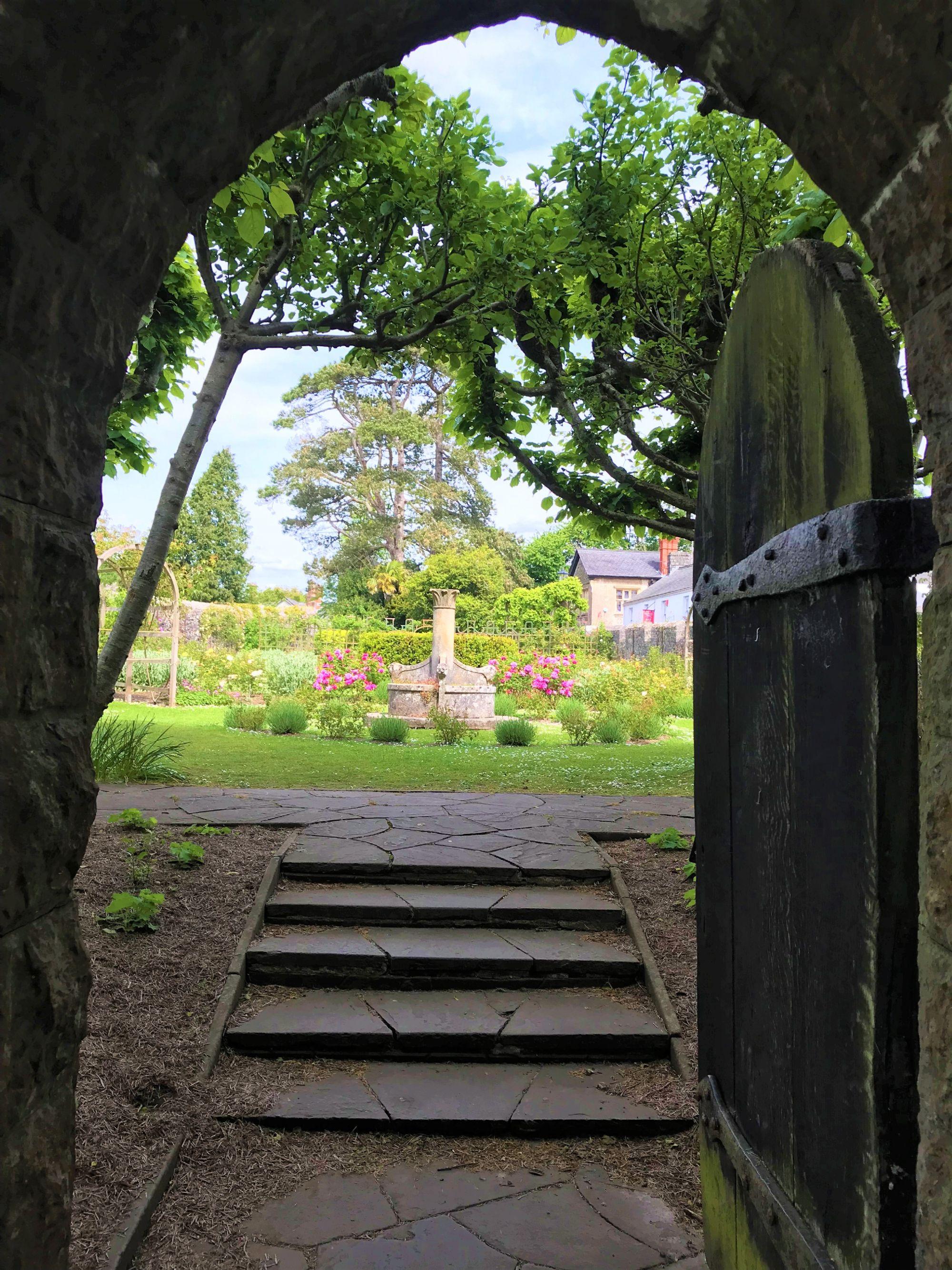 The secret garden Saint Fagans
